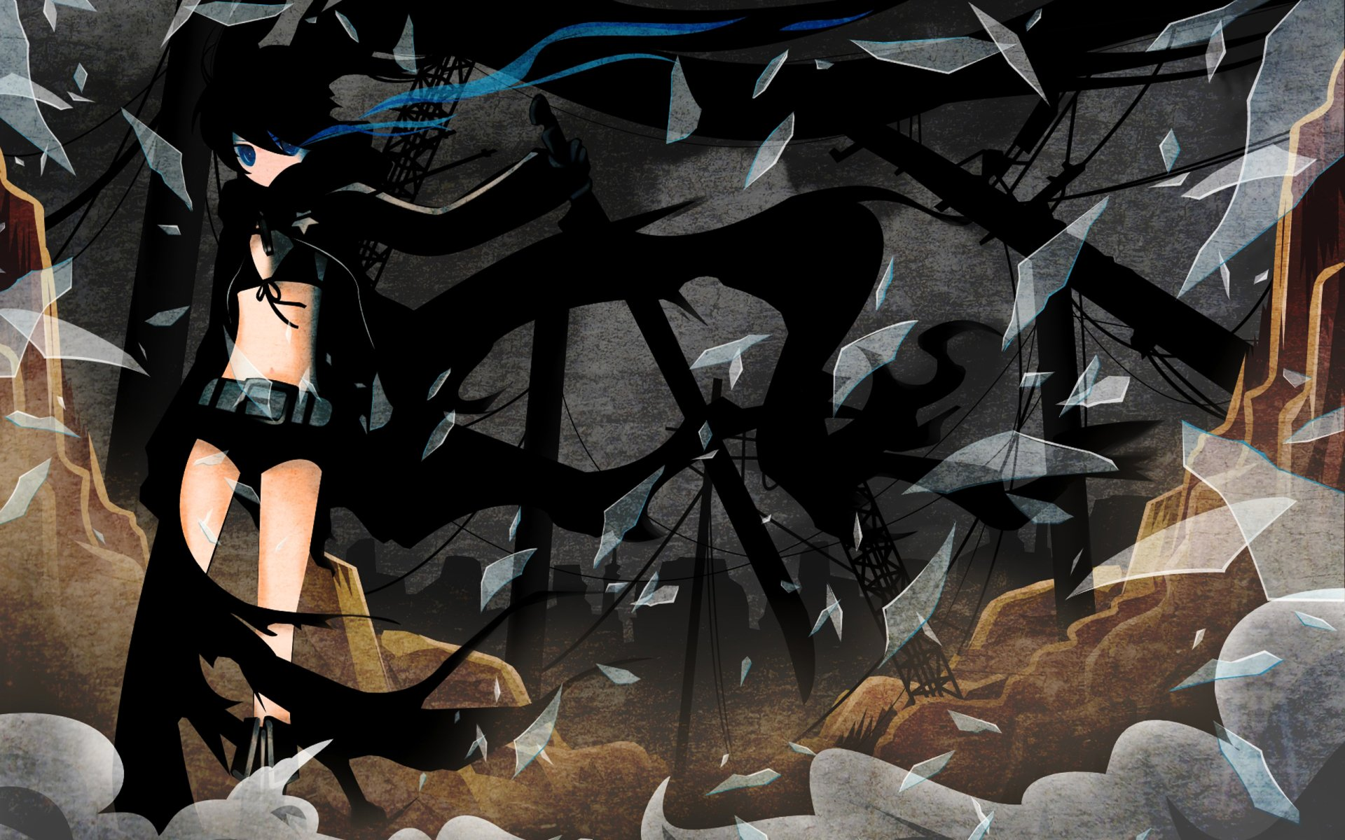 Anime - Black Rock Shooter  Mato Fondo de Pantalla