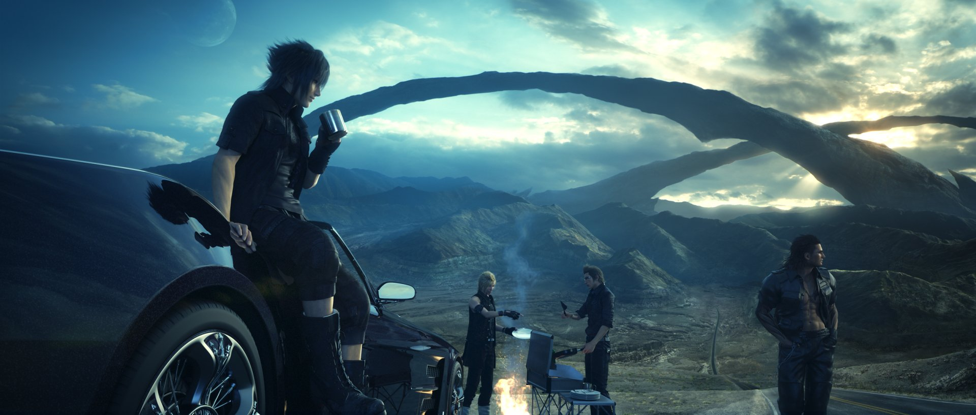 Video Game - Final Fantasy XV  Video Game Final Fantasy Sunset Wallpaper