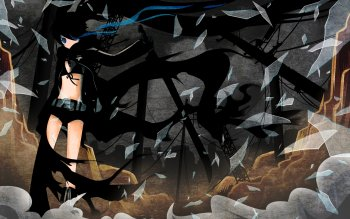 Аниме - Black Rock Shooter Wallpapers and Backgrounds ID : 109168