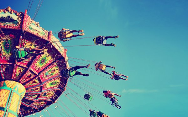 Photography People Amusement Park Carousel HD Wallpaper | Background Image
