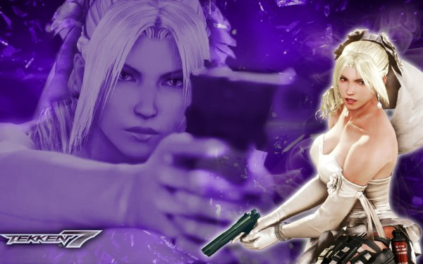 Video Game Tekken 7 Tekken Nina Williams Blonde HD Wallpaper   Background Image
