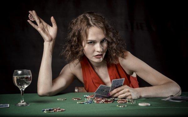 Women Mood Card Game Casino HD Wallpaper | Background Image