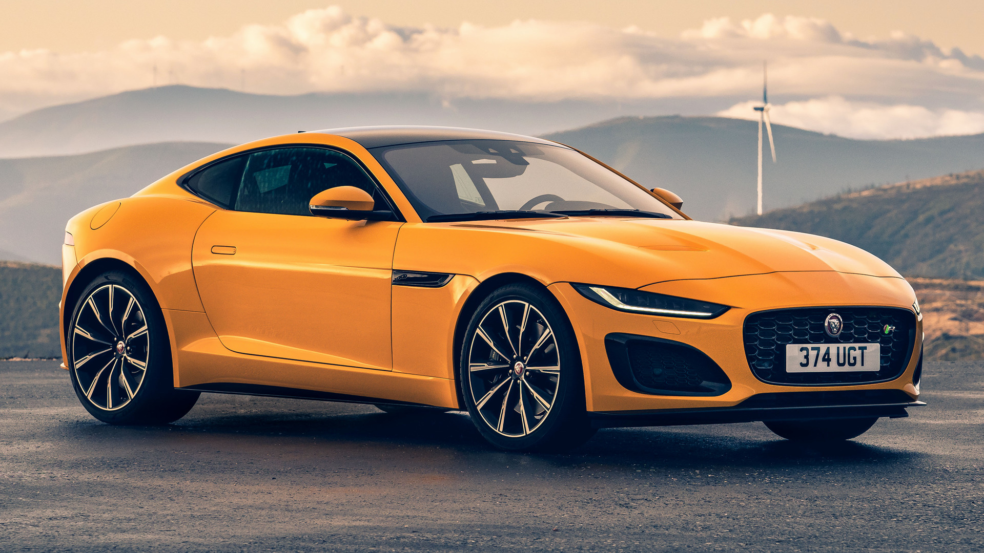 2020 jaguar f-type r coupe hd wallpaper | background image