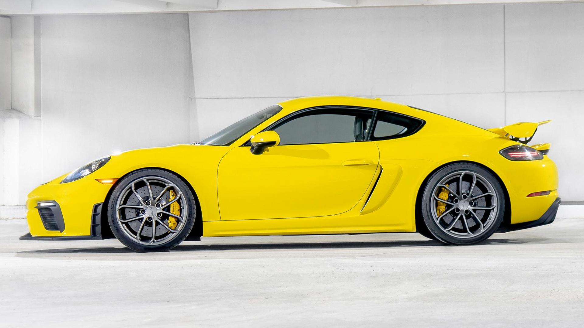 2020 Porsche 718 Cayman Gt4 Papel De Parede Hd Plano De Fundo 1920x1080 Id 1107705 Wallpaper Abyss