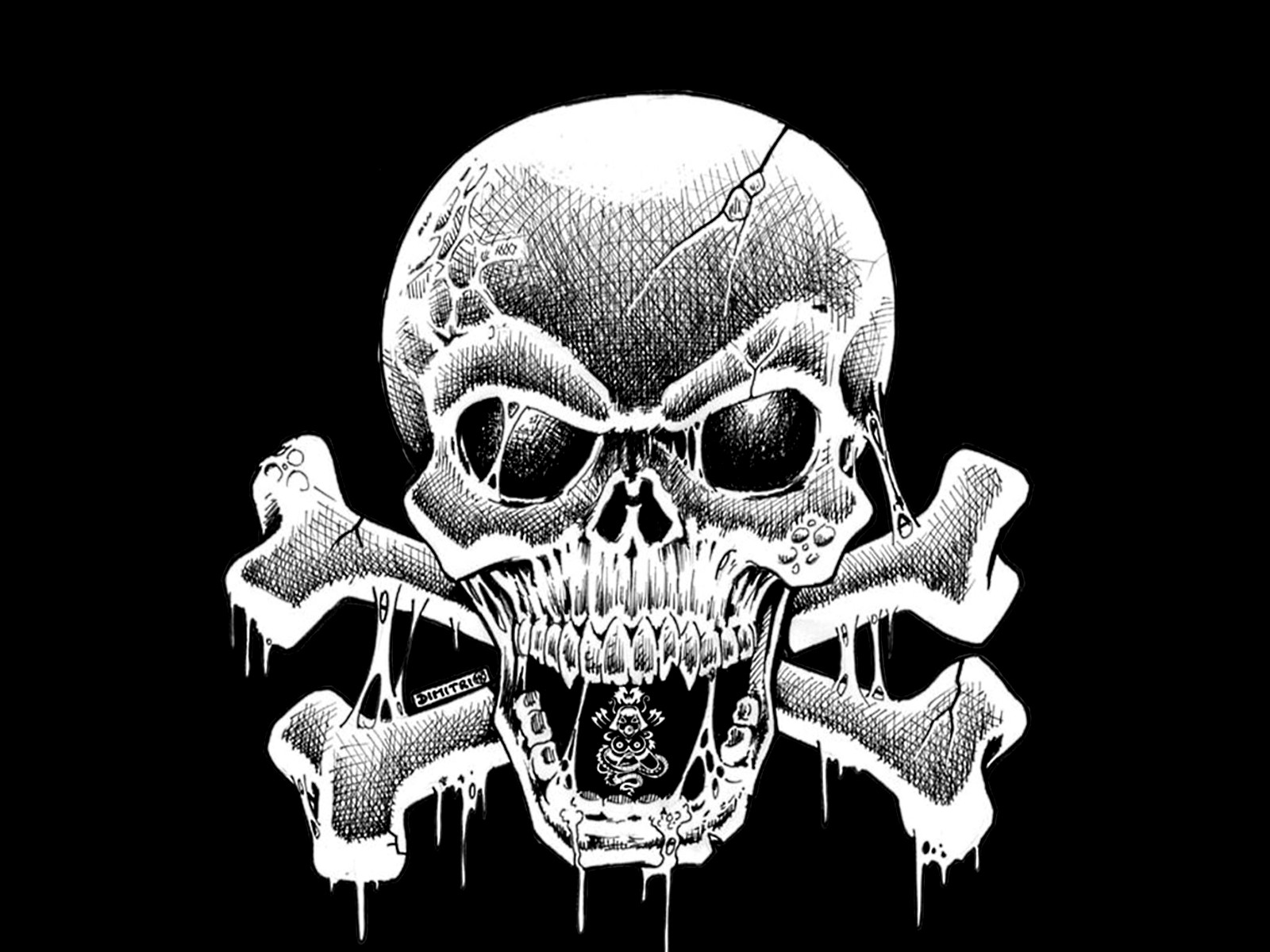 Skull Wallpaper and Background | 1600x1200 | ID:110978