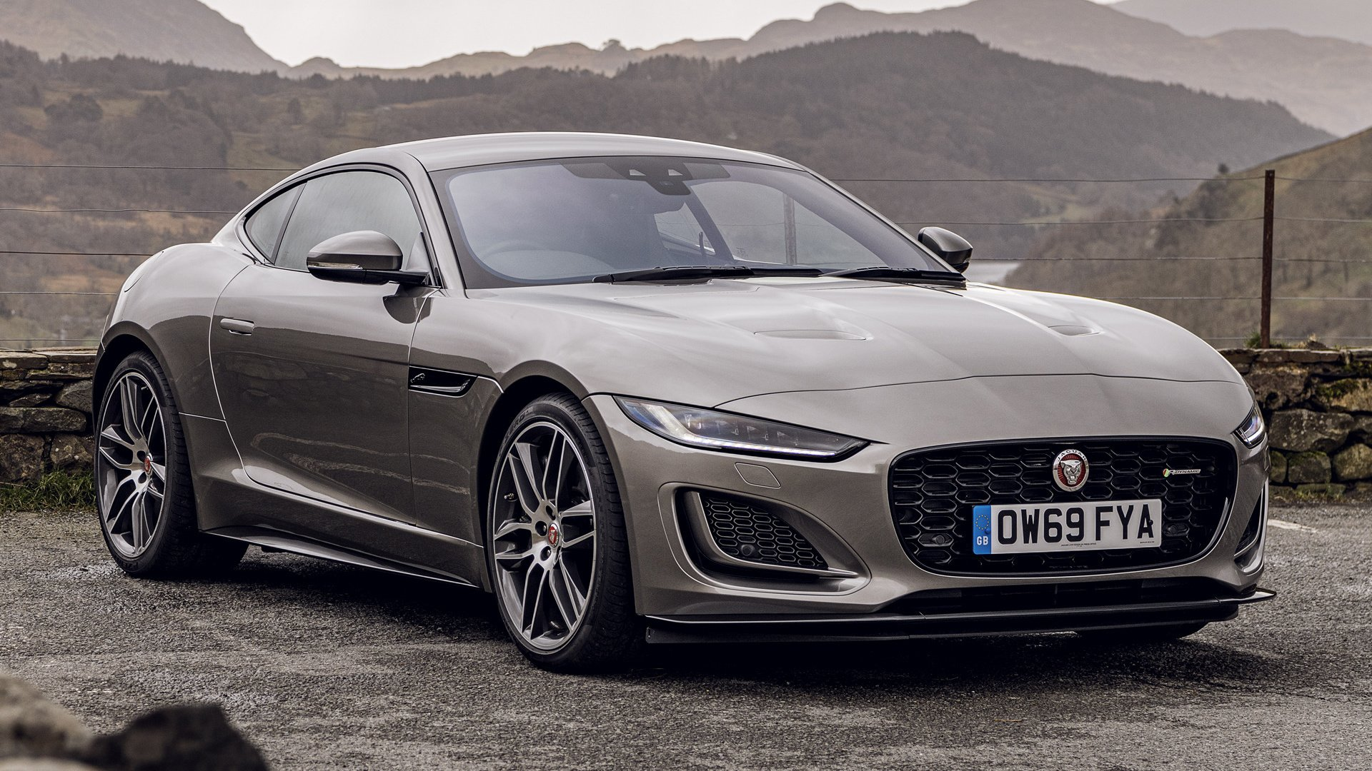 2020 jaguar f-type p 450 coupe r-dynamic hd wallpaper