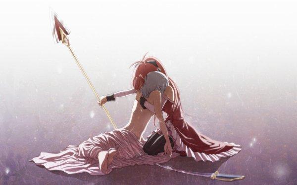 Anime Puella Magi Madoka Magica Sayaka Miki Kyōko Sakura HD Wallpaper | Background Image
