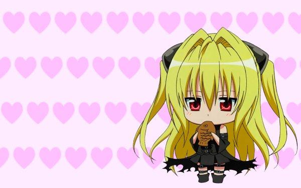Anime To Love-Ru Golden Darkness Chibi HD Wallpaper | Background Image