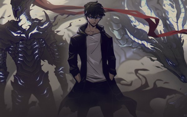 Anime Solo Leveling Igris Sung Jin-Woo HD Wallpaper | Background Image
