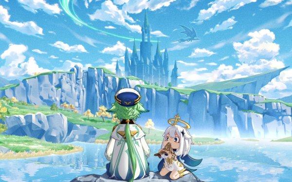 Video Game Genshin Impact Sucrose Paimon Mondstadt HD Wallpaper | Background Image