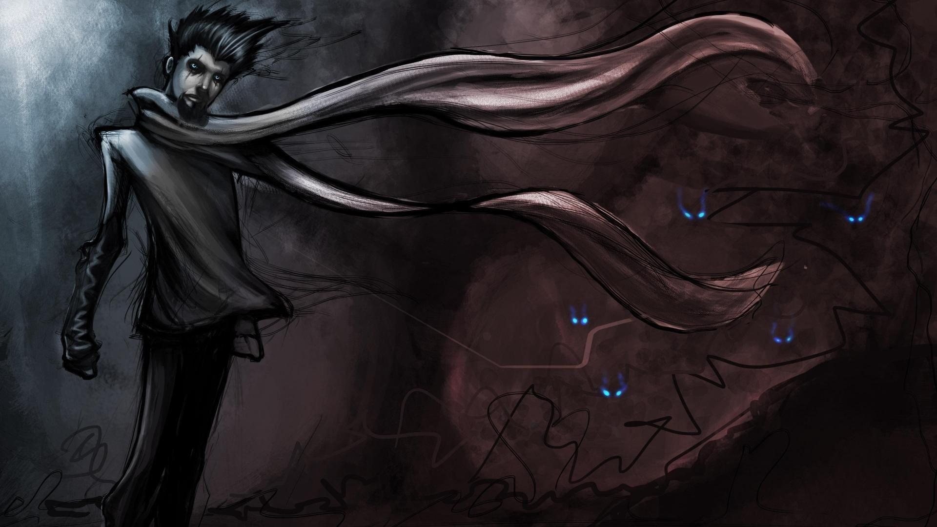 Fantasy - Mörk  Bakgrund