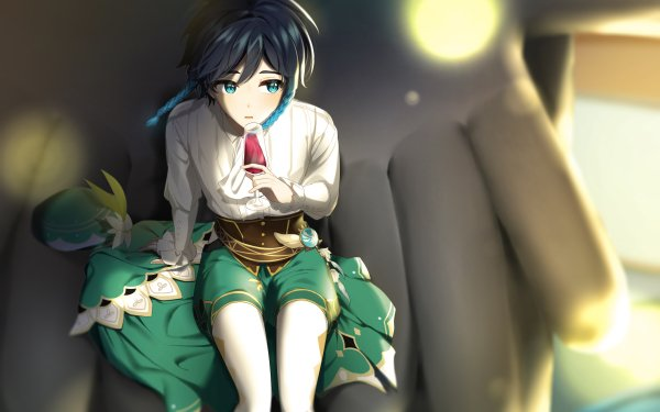 Video Game Genshin Impact Venti Boy HD Wallpaper   Background Image