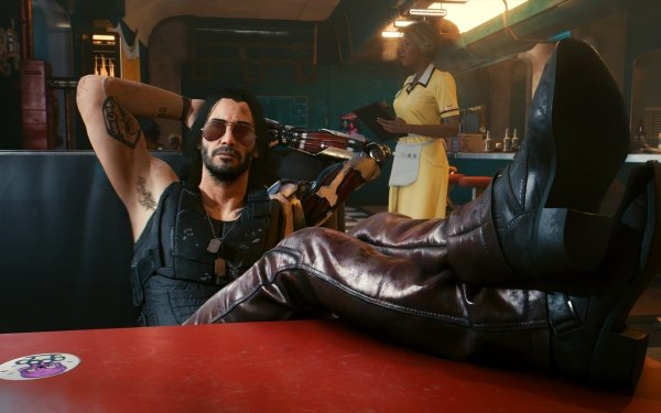 Video Game Cyberpunk 2077 Johnny Silverhand Man Boots HD Wallpaper | Background Image