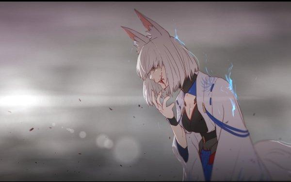 Anime Azur Lane Kaga HD Wallpaper | Background Image