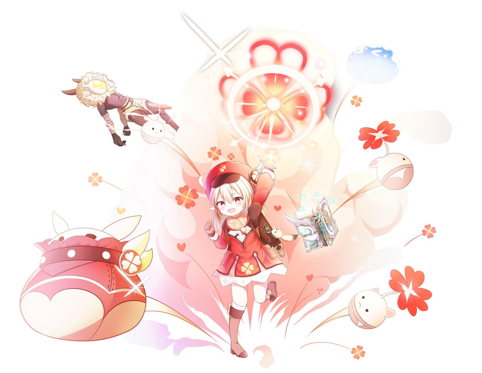 Klee Genshin Impact Loli Wallpaper