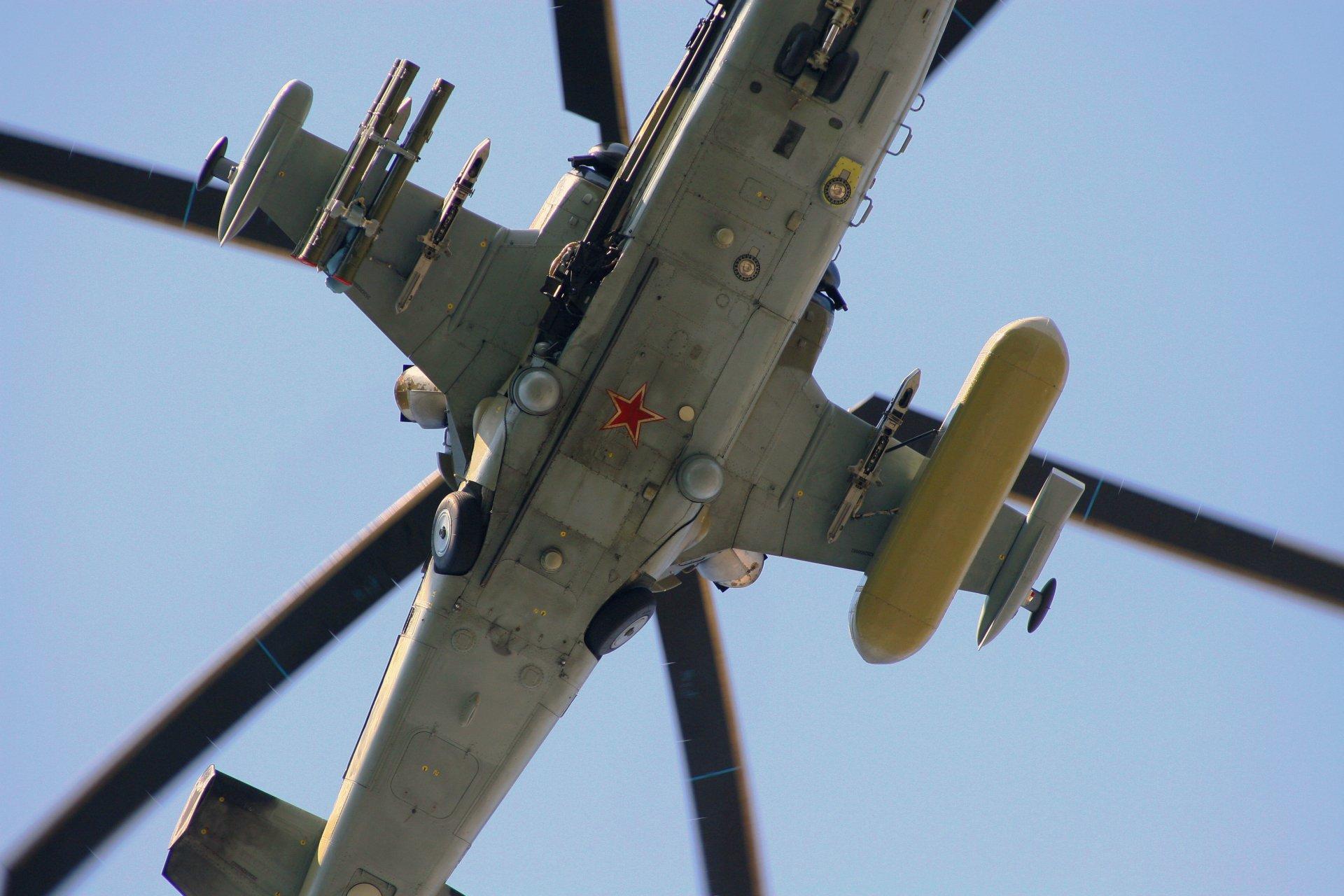 Helicoptero Hd Fondos De Escritorio: Kamov Ka-52 Alligator Full HD Fondo De Pantalla And Fondo