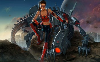 Sci Fi - Women Wallpapers and Backgrounds ID : 112756
