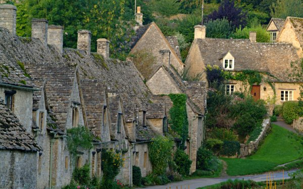 Man Made Village Architecture Building Place HD Wallpaper | Background Image