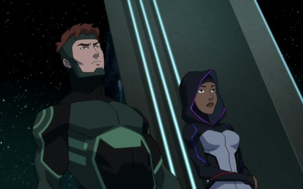 TV Show Young Justice Halo Geo Force HD Wallpaper | Background Image