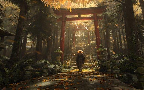 Video Game Ghost of Tsushima Fan Art HD Wallpaper | Background Image