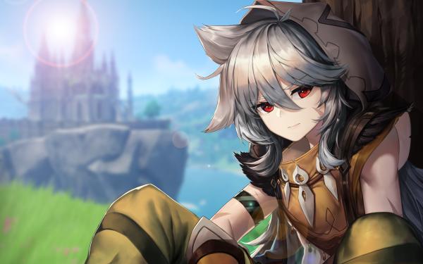 Video Game Genshin Impact Razor HD Wallpaper | Background Image