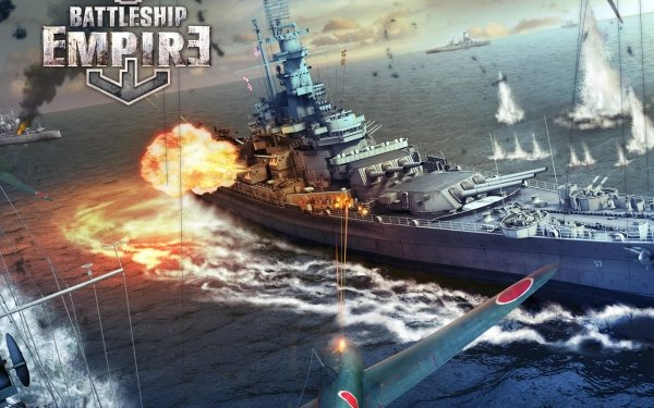 Video Game Battle Warship: Naval Empire HD Wallpaper   Background Image