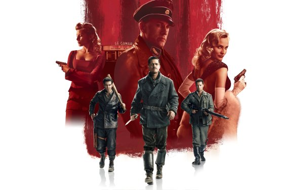 Movie Inglourious Basterds Brad Pitt Christoph Waltz Diane Kruger Eli Roth HD Wallpaper   Background Image