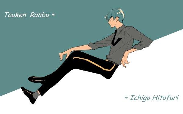 Anime Touken Ranbu Ichigo Hitofuri HD Wallpaper   Background Image