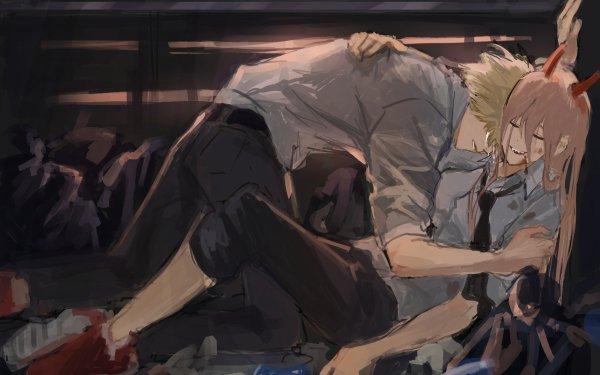 Anime Chainsaw Man Denji Power HD Wallpaper   Background Image