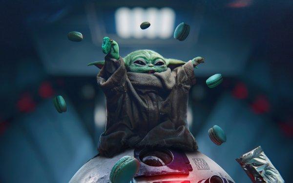 TV Show The Mandalorian Star Wars Baby Yoda HD Wallpaper | Background Image