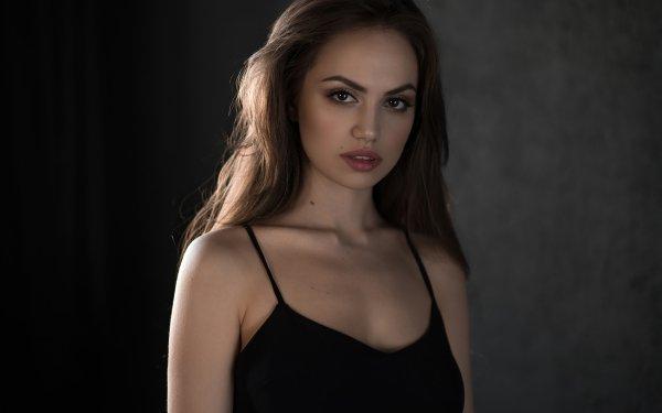 Women Model Models Woman Brunette HD Wallpaper | Background Image