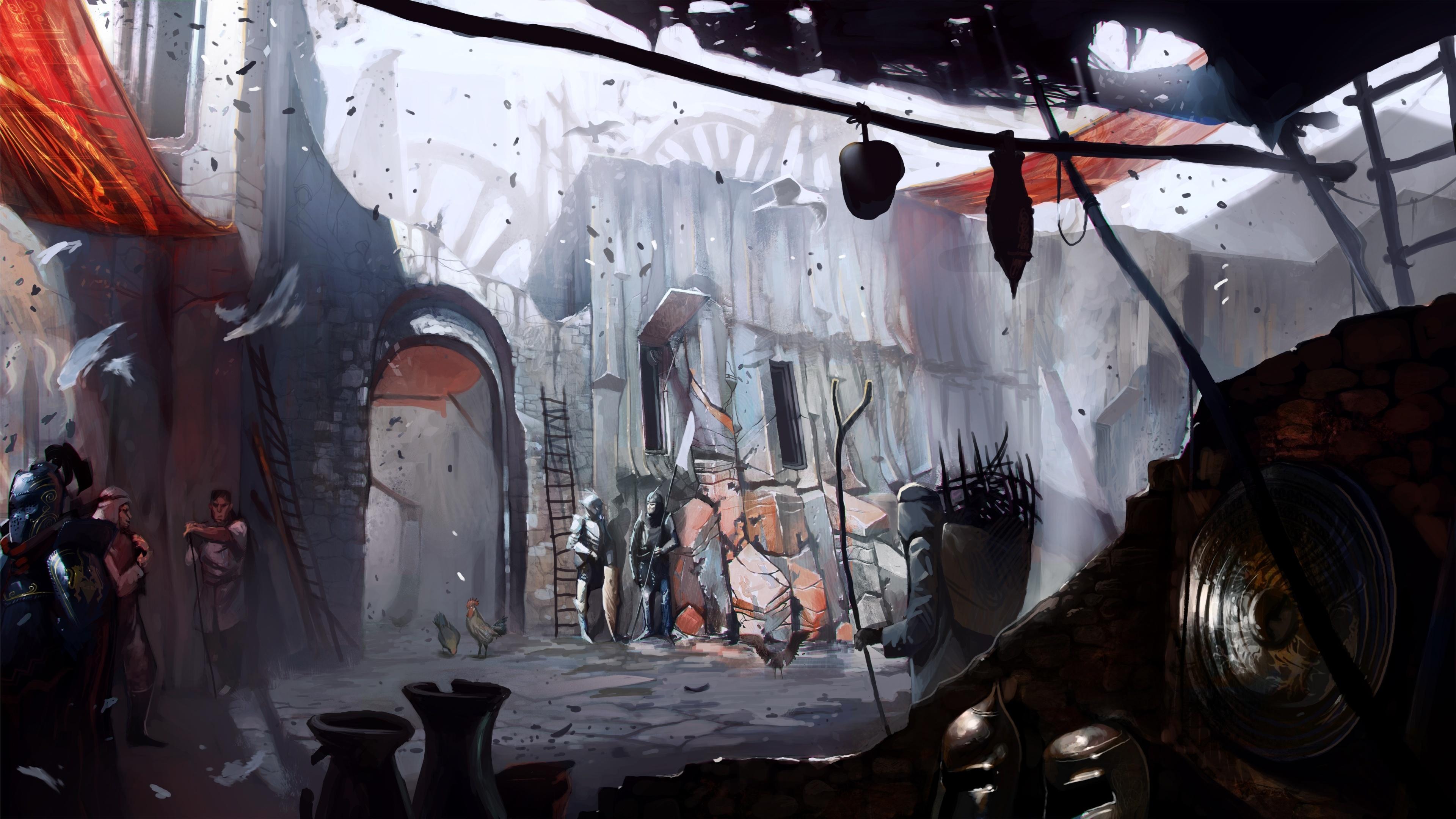 Dragon Age II 4k Ultra HD Wallpaper | Background Image ...