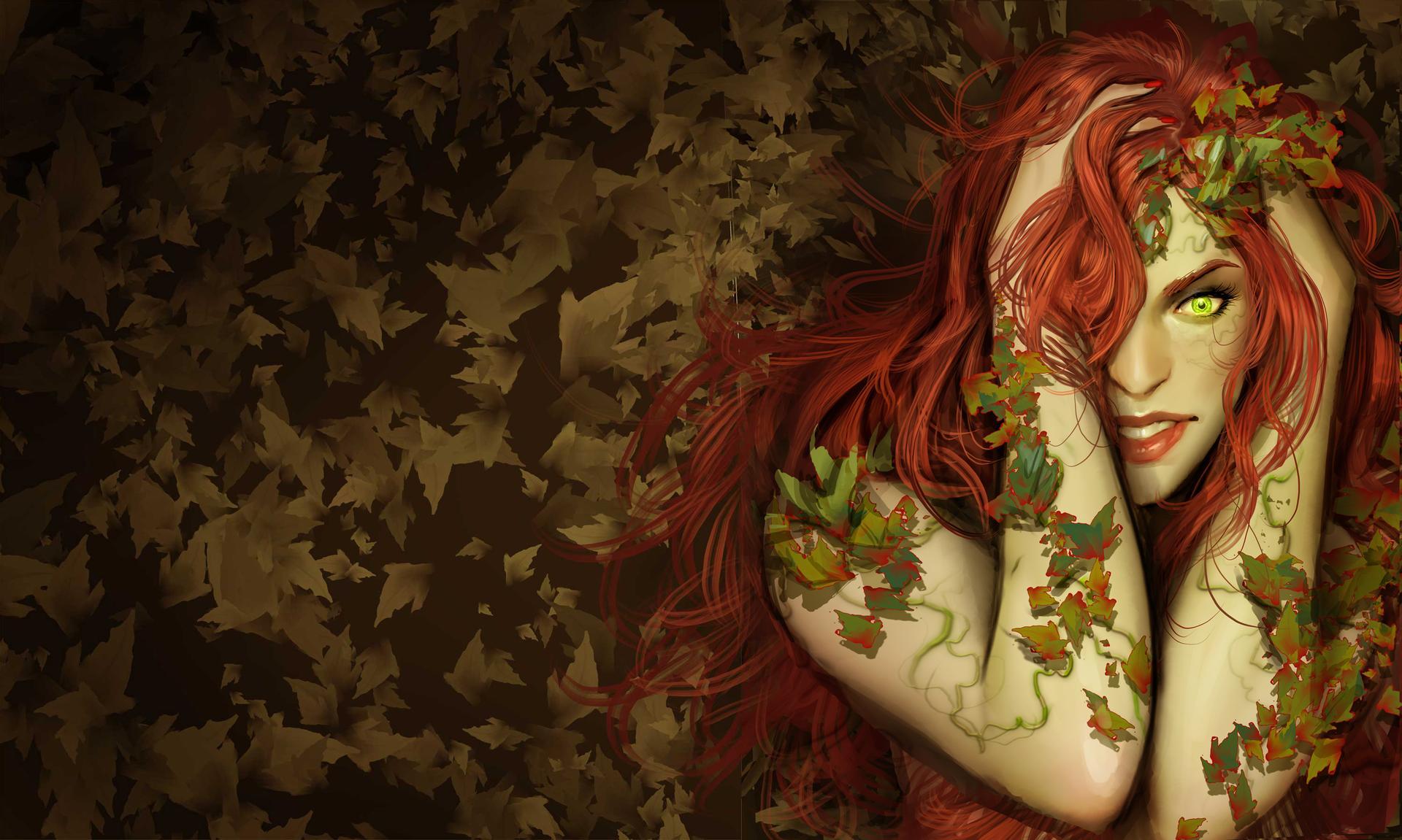 Poison Ivy 4k Ultra HD Wallpaper | Background Image