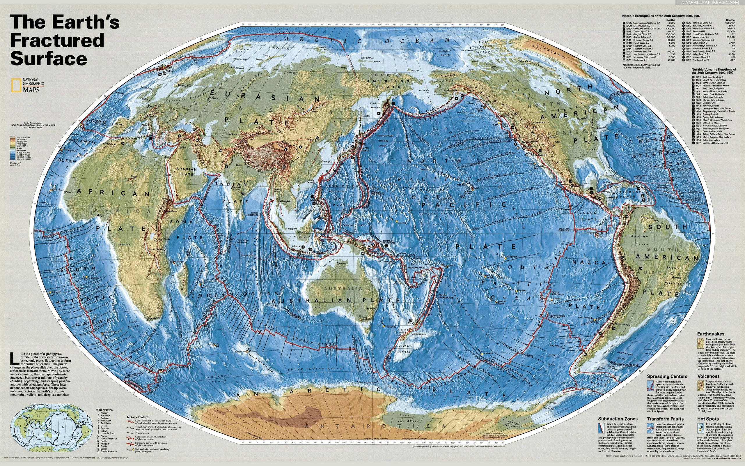 Diversen - Kaart  Achtergrond