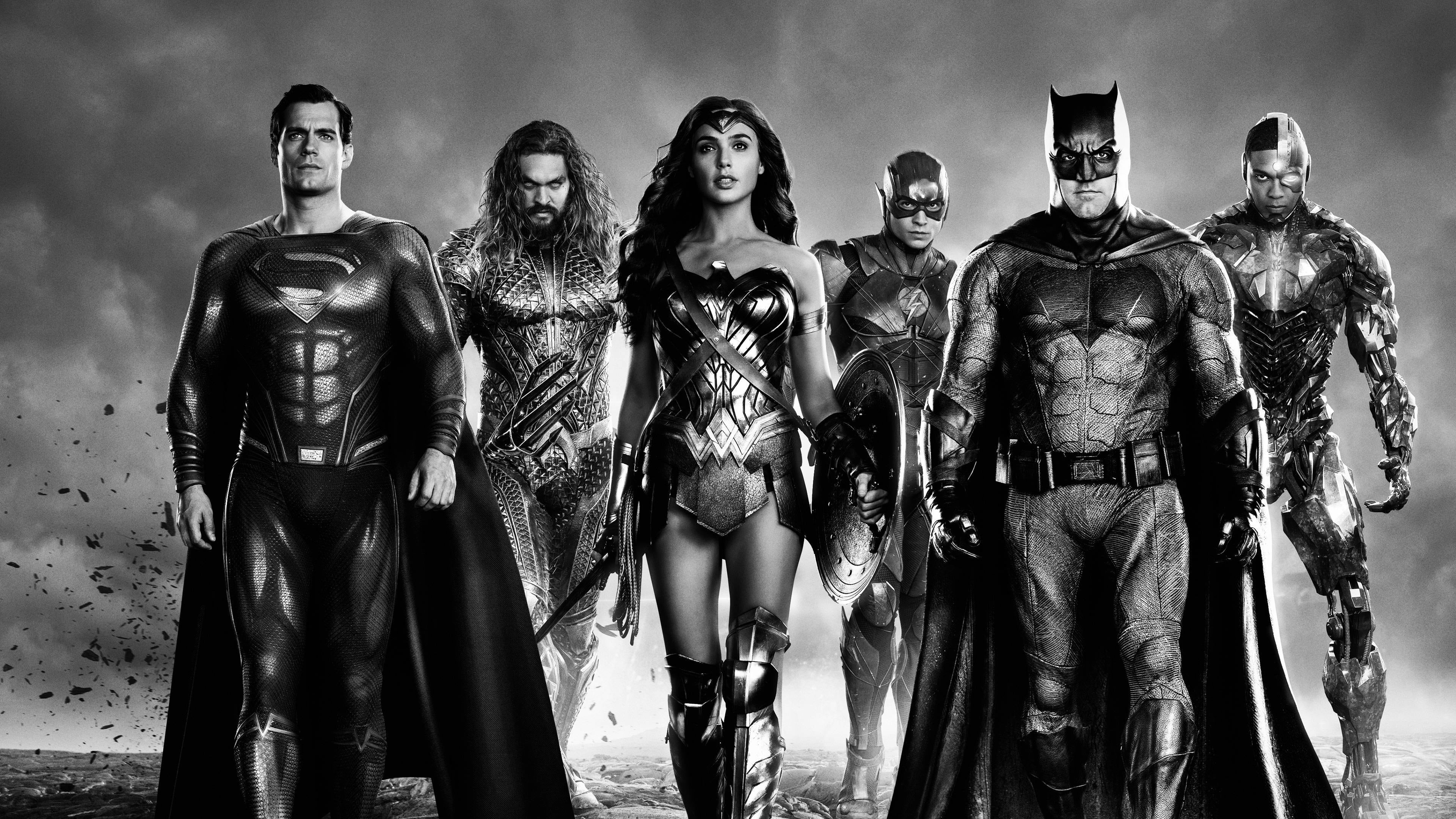 Zack Snyder's Justice League 4k Ultra Papel de Parede HD   Plano de Fundo   3840x2160
