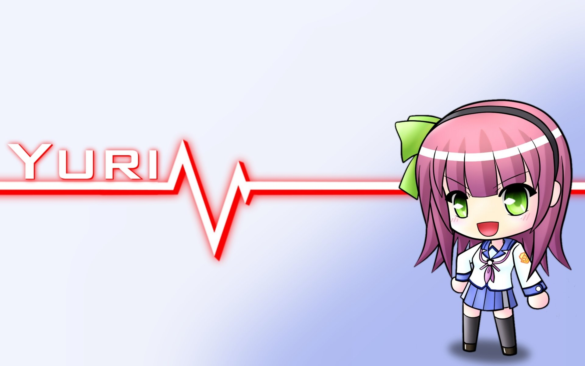 Anime - Angel Beats!  Yuri Nakamura Fond d'écran