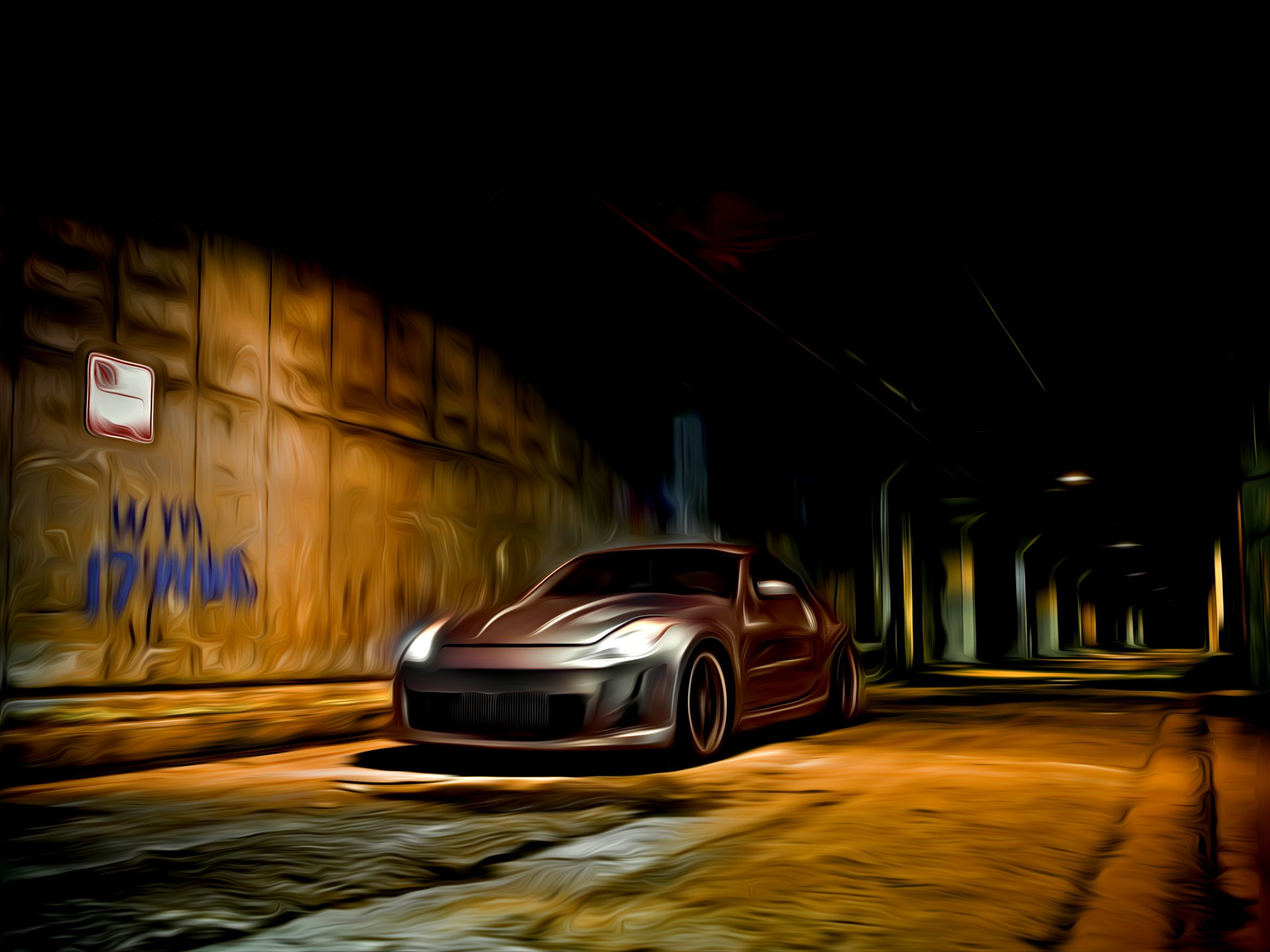 Vehicles - Nissan  Nissan 350Z Wallpaper