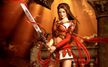 Fantasy - Women Warrior Wallpapers and Backgrounds ID : 113296