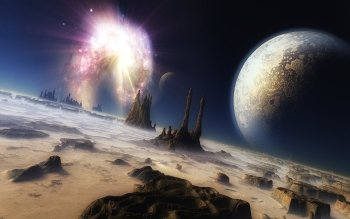 Научная фантастика - Planetscape Wallpapers and Backgrounds ID : 113656