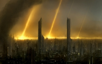 Science-Fiction - Großstadt Wallpapers and Backgrounds ID : 11378