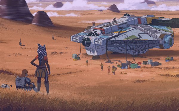 Sci Fi Star Wars Ahsoka Tano Spaceship HD Wallpaper | Background Image