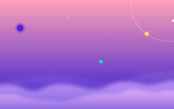Artistic Sky Cloud Sun Gradient HD Wallpaper   Background Image