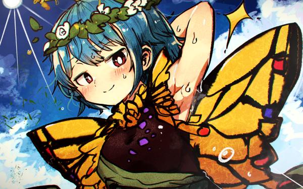 Anime Touhou Eternity Larva HD Wallpaper   Background Image