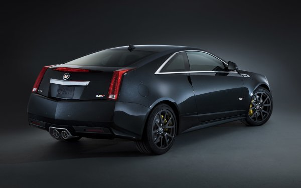 Vehicles Cadillac CTS-V Cadillac Cadillac CTS-V Coupe Luxury Car Coupé Black Car Car HD Wallpaper   Background Image