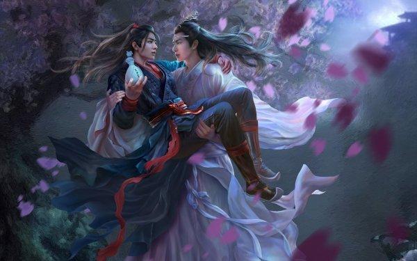 TV Show The Untamed Wei Wuxian Wei Ying Lan Wangji Lan Zhan Xiao Zhan Wang Yibo HD Wallpaper   Background Image