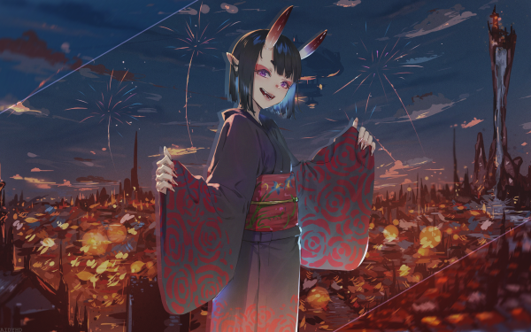 Anime Fate/Grand Order Fate Series Shuten Dōji HD Wallpaper | Background Image