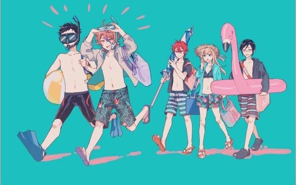 Anime Touken Ranbu Atsushi Toushirou Gotou Toushirou Midare Toushirou Shinano Toushirou Yagen Toushirou HD Wallpaper | Background Image