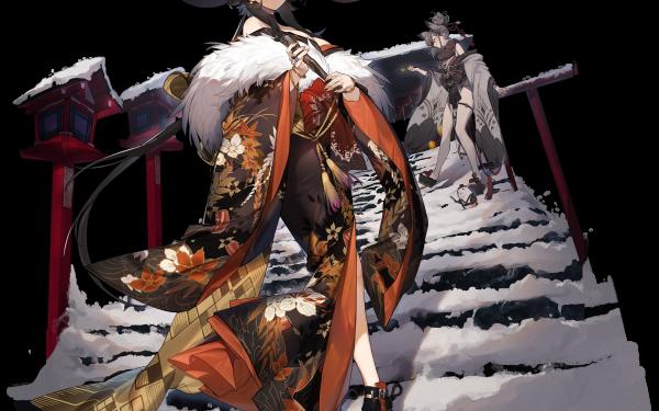 Anime Azur Lane Georgia Suzutsuki HD Wallpaper   Background Image