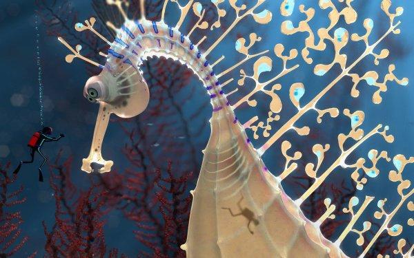 Fantasy Creature Seahorse HD Wallpaper | Background Image