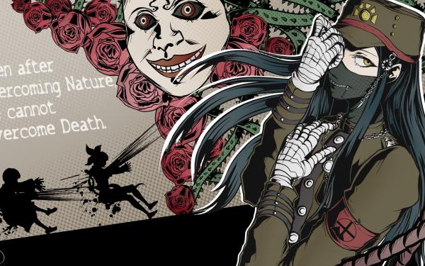 Video Game Crossover Danganronpa V3: Killing Harmony Korekiyo Shinguji Angie Yonaga Tenko Chabashira Persona 5 HD Wallpaper | Background Image